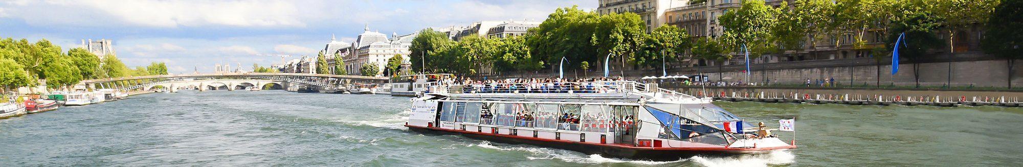 Croisière Promenadesur la Seine