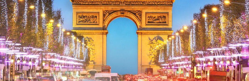 Feestdagenin Parijs