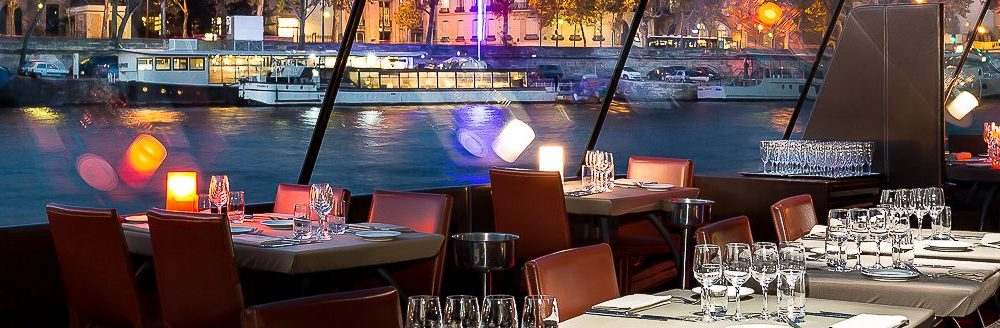 Круиз c ужином по Сене в Париже