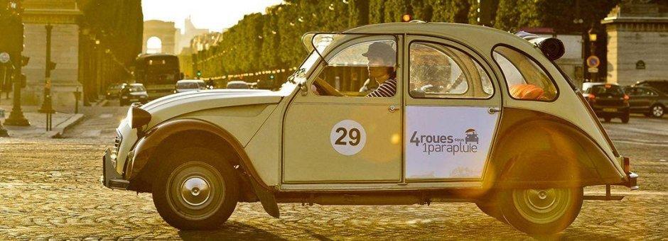 Visita de París en Citroën 2CV