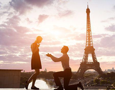 Proposta di matrimonio a Parigi