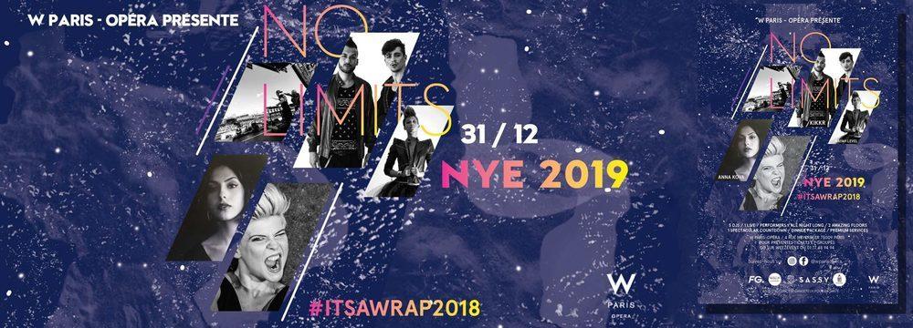 Hôtel W Paris - Opéra - New Year's Eve 2020