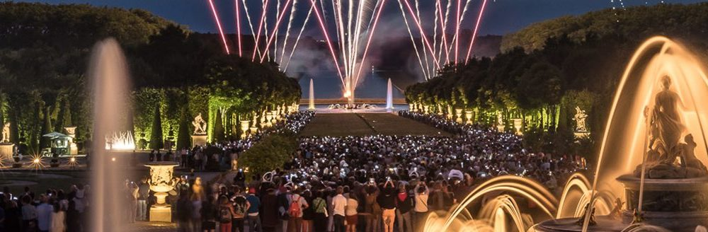 Versailles Night Fountains Show