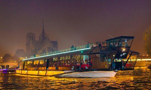 Bateaux-Mouches - bateau La Patache sur la Seine