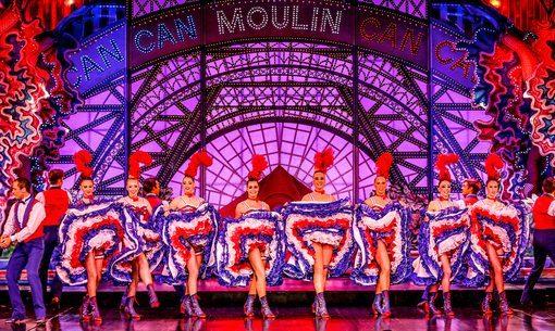 Cabaret Moulin Rouge Paris - Revue Féérie - Final French Cancan