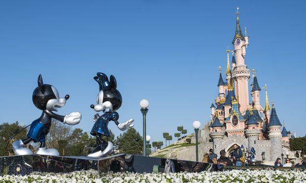 Disneyland® Paris ©DISNEY Point de Vue Panoramique du Parc Disneyland Château de la Belle au Bois Dormant