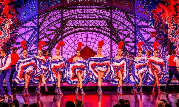 Cabaret Moulin Rouge Paris - Revue Féérie - Final French Cancan