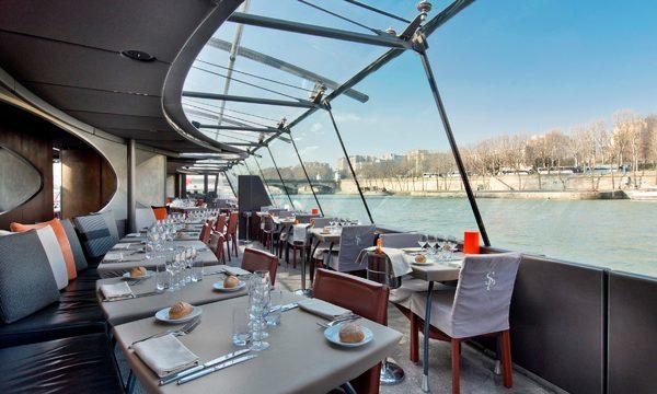 Bateaux Parisiens - Déjeuner Croisière entièrement vitré
