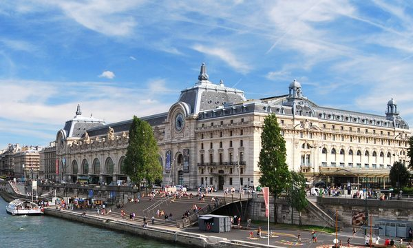 Musee d'Orsay - Panoramique Seine