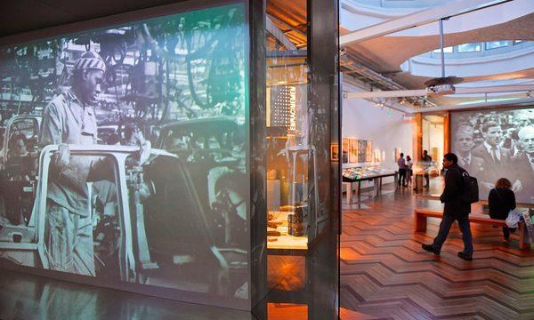 Salles de l'exposition permanente Repères Photo Denis Hurtaud, 2016 © EPPPD