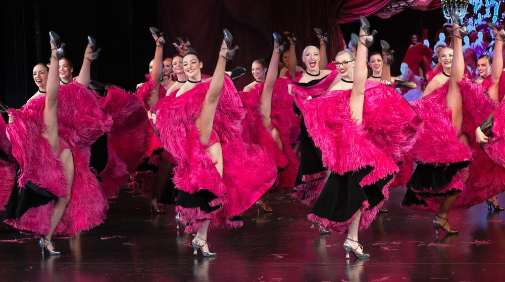Cabaret Lido de Paris, French Cancan