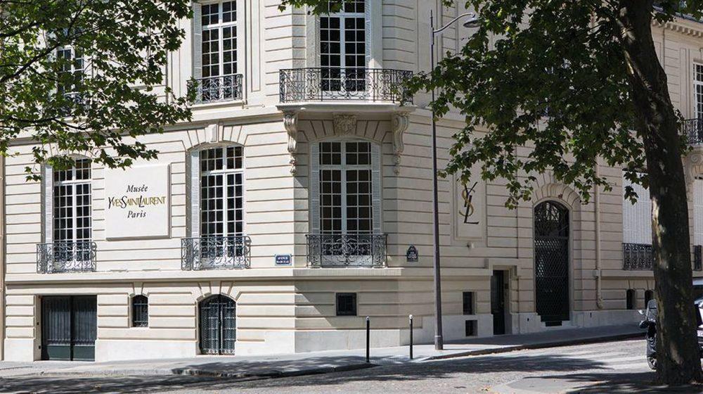 Musée Yves Saint Laurent Paris : façade du musée 5 avenue Marceau