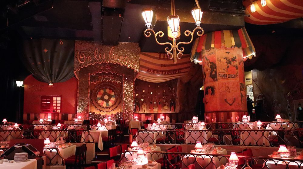 Cabaret Moulin Rouge Paris