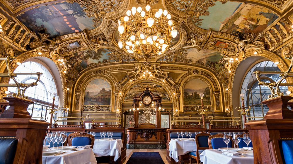 Restaurant Le Train Bleu - Gare de Lyon - Horloge et Salle Dorée