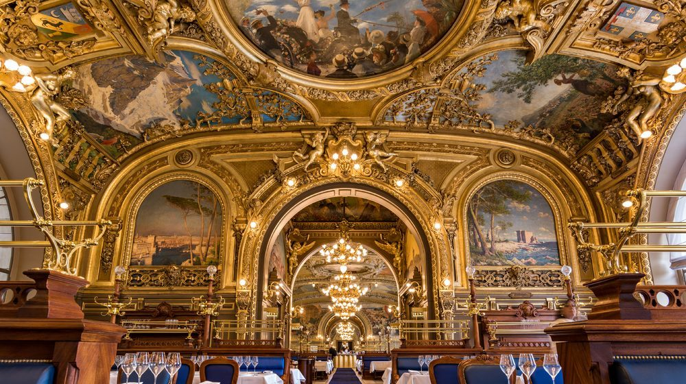 Restaurant Le Train Bleu - Gare de Lyon - Perspective