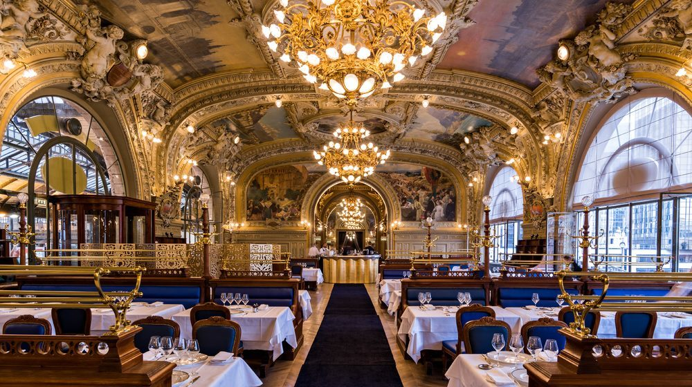 Restaurant Le Train Bleu - Gare de Lyon