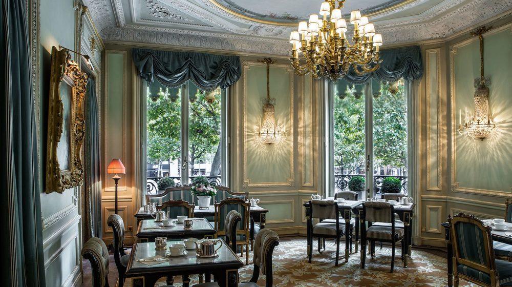 Restaurant Ladurée, 75 avenue des Champs-Elysées, Paris : salon Castiglione