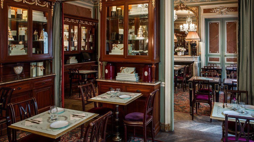 Restaurant Ladurée, 75 avenue des Champs-Elysées, Paris : salon Chocolaterie