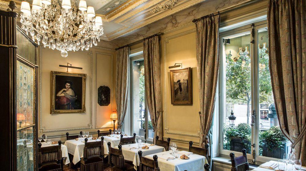 Restaurant Ladurée, 75 avenue des Champs-Elysées, Paris : salon Mathilde
