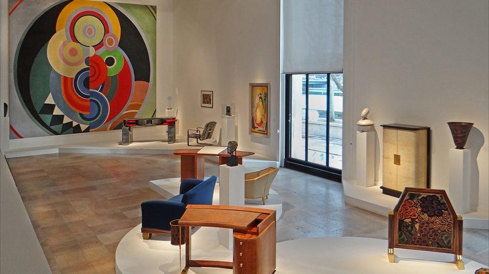 Musée d'Art Moderne de la Ville de Paris : la salle d'art deco