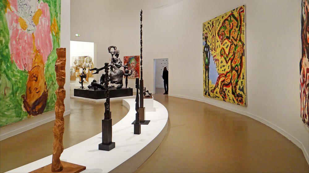 Musée d'art moderne de la Ville de Paris : la salle sur la scène allemande