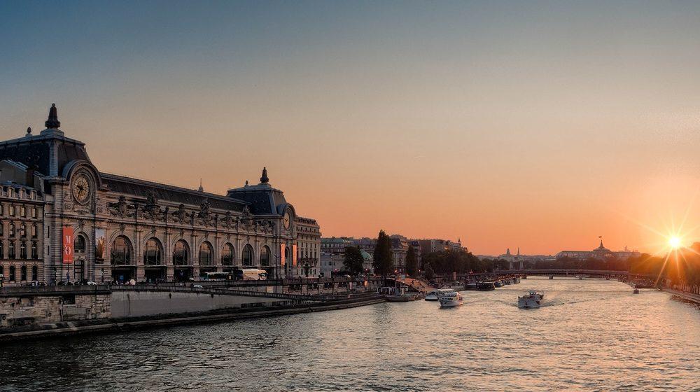Musee d'Orsay - Facade Seine