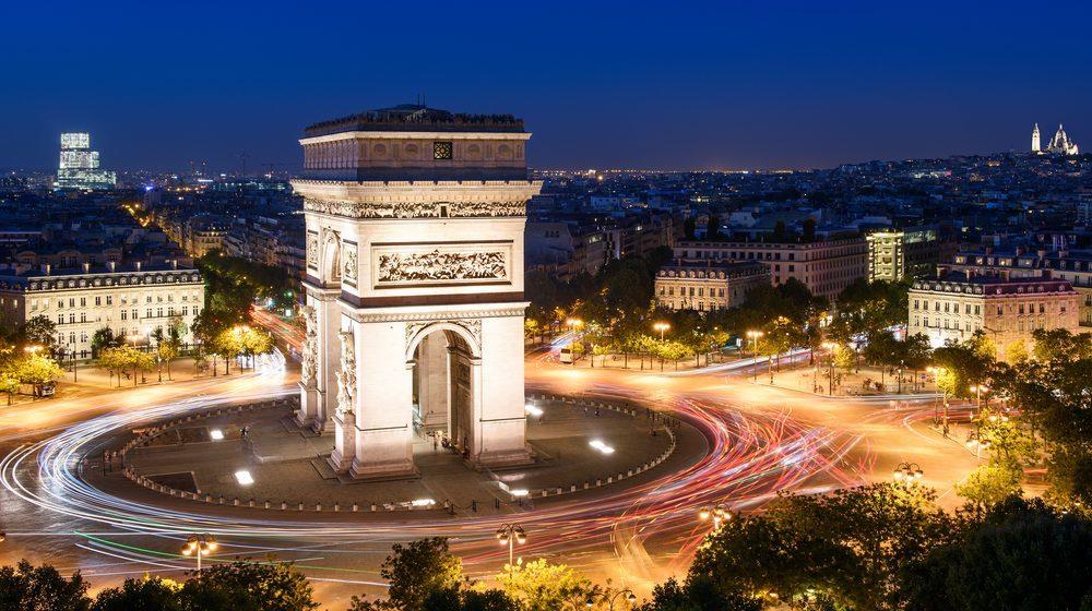 Arc de Triomphe - Place de l'Etoile panorama