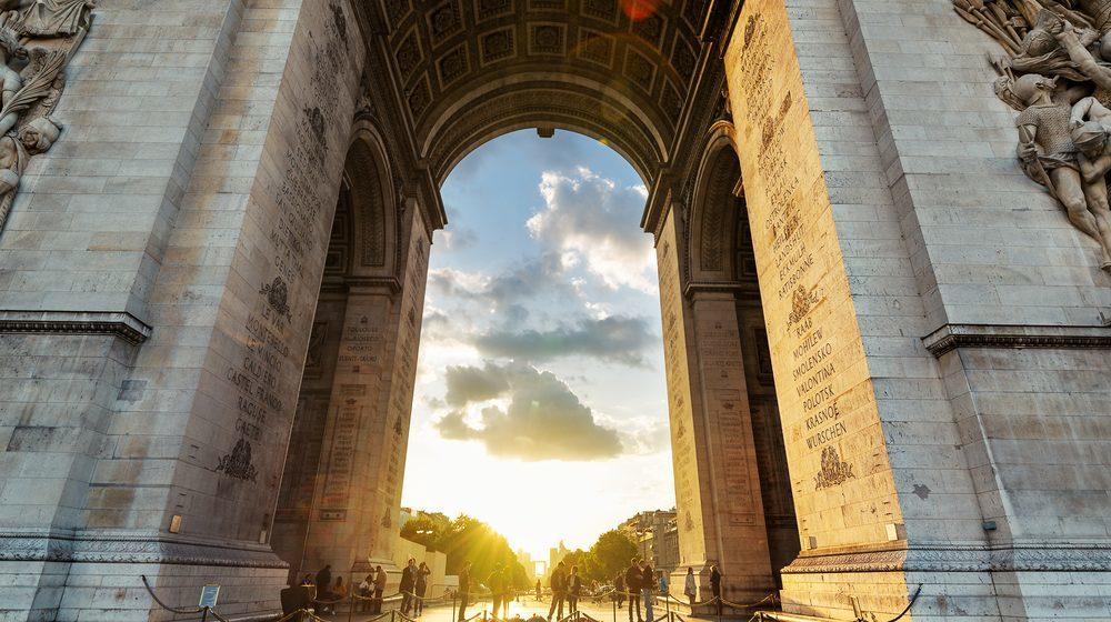 Arc de Triomphe - Centre