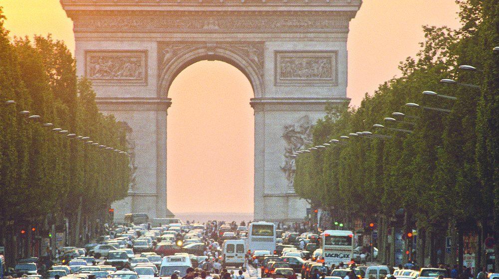 Arc de Triomphe - Coucher soleil