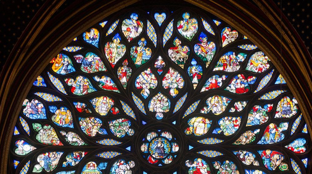 Sainte Chapelle - Vitrail
