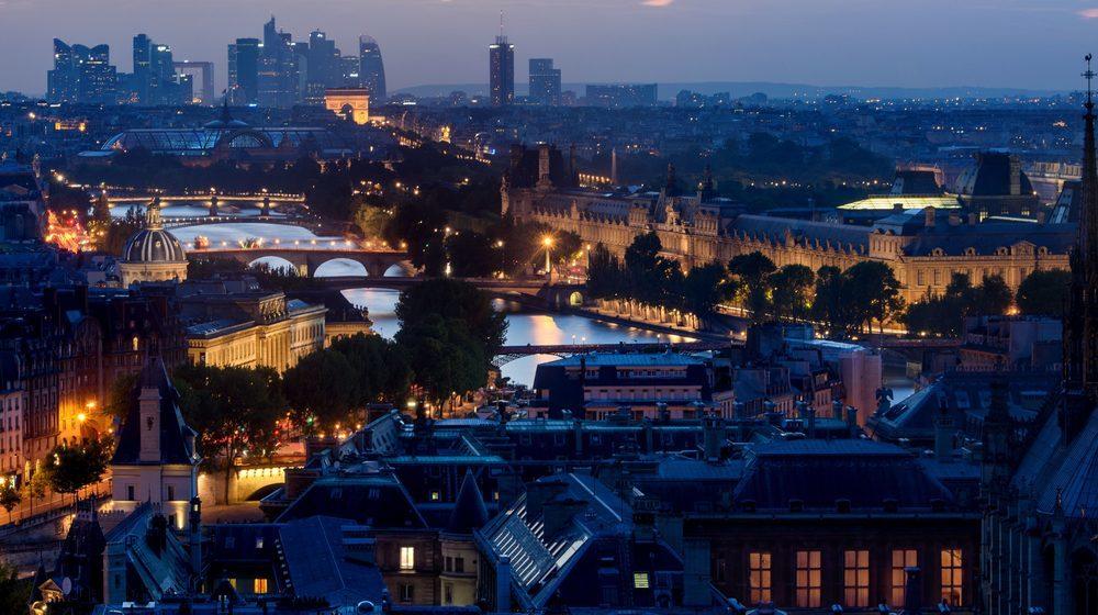 Sainte Chapelle - Panorama Paris