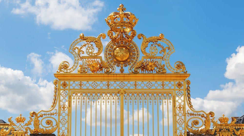 Château de Versailles - Portail doré