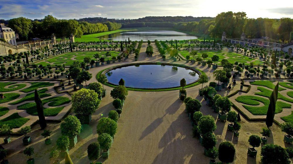 Château de Versailles - Jardin panorama