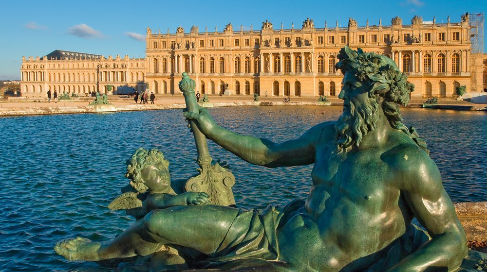 Château de Versailles - Statue fontaine