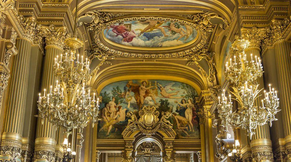 Opéra Garnier - Intérieur