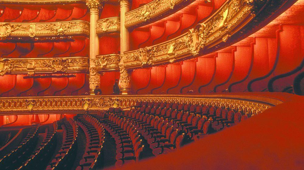 Opéra Garnier - Salle fauteuils