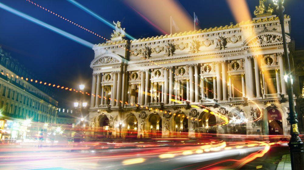 Opéra Garnier - Nuit lumière