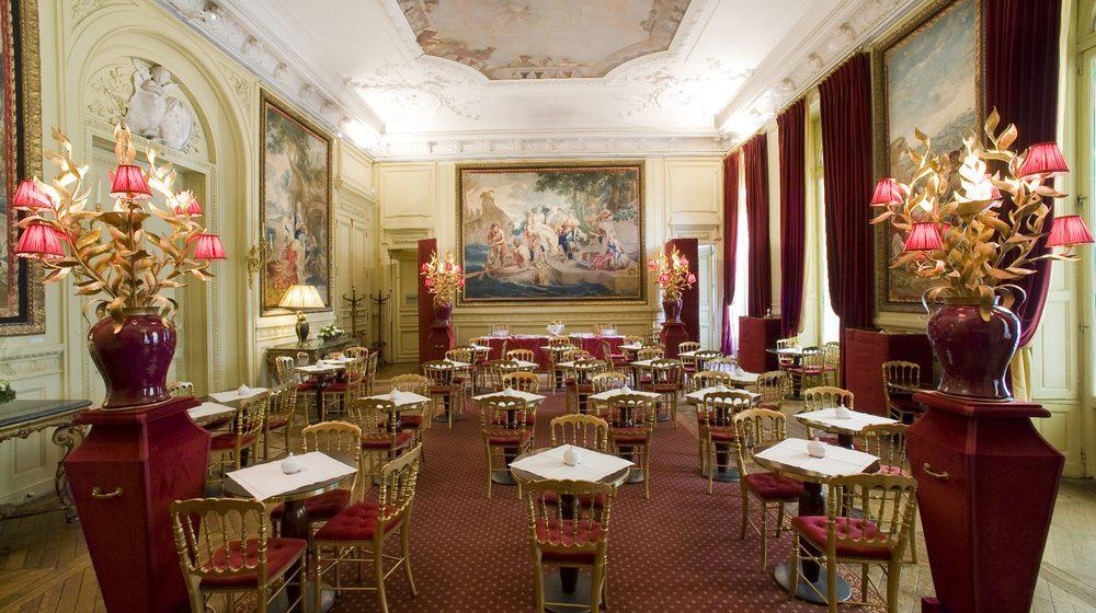 Musée Jacquemart-André : Salon de thé © Studio Sébert Photographes