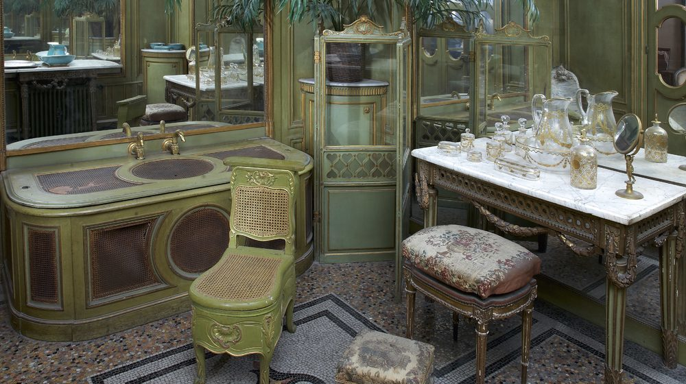Musée Jacquemart-André : Salle de bain chambre de Monsieur © Studio Sébert Photographes