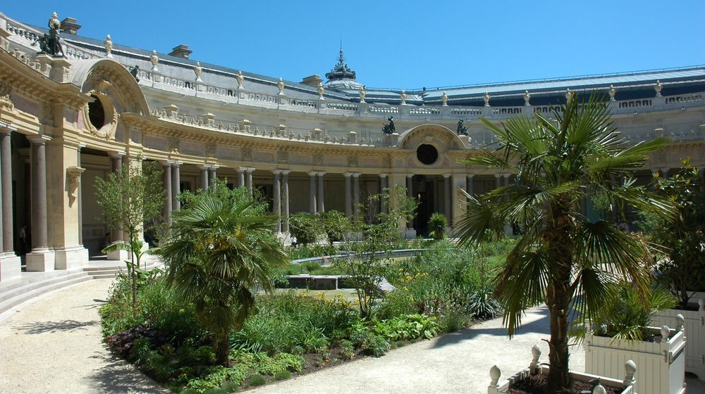 Jardin intérieur du Petit Palais