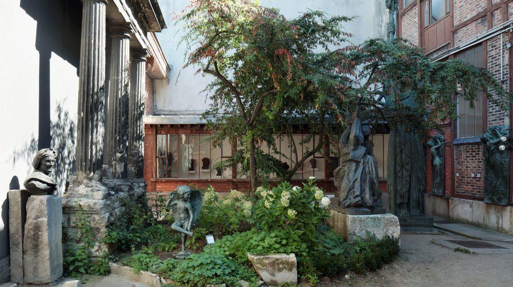 L'atelier vu depuis le jardin © Musée Bourdelle