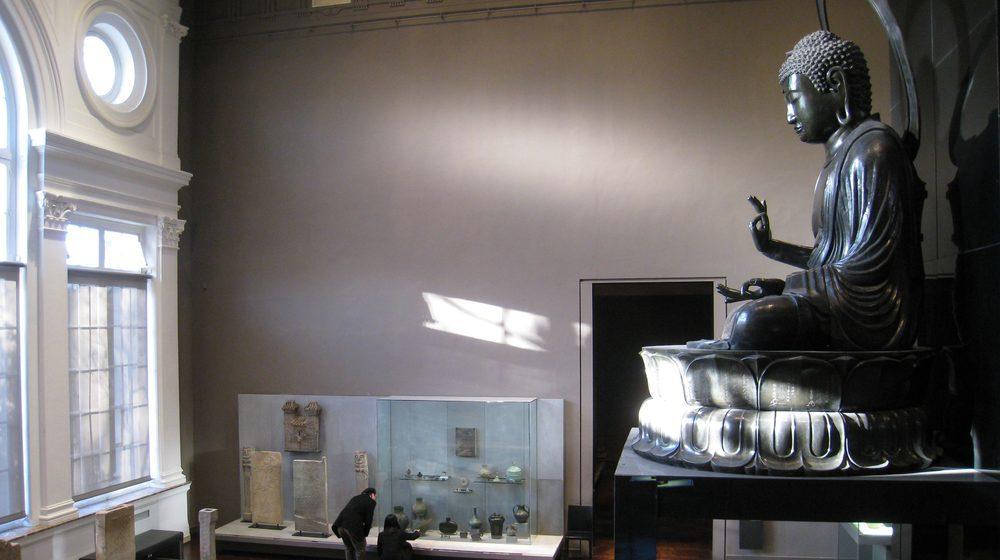 Musée Cernuschi - Salle au grand Bouddha