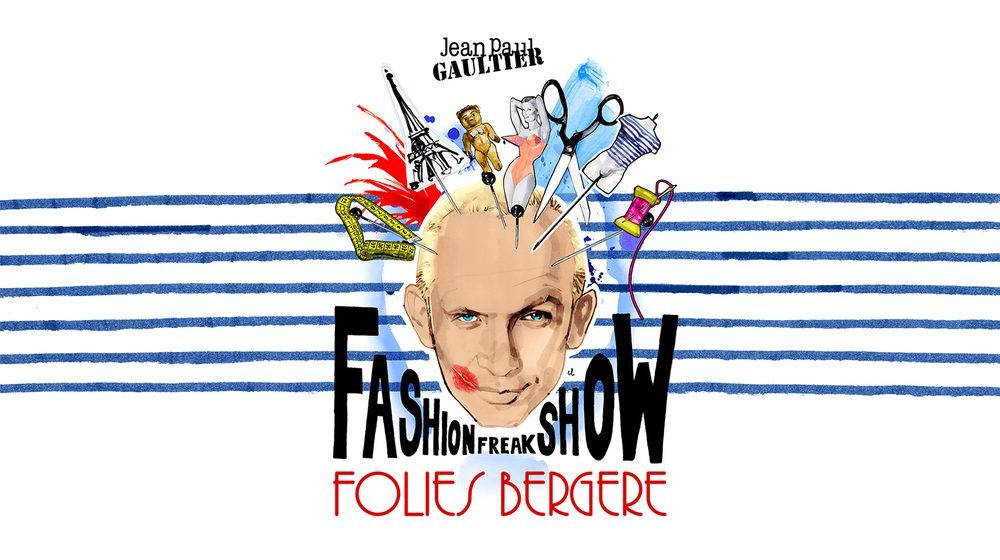 Jean Paul Gaultier Fashion Freak Show Affiche