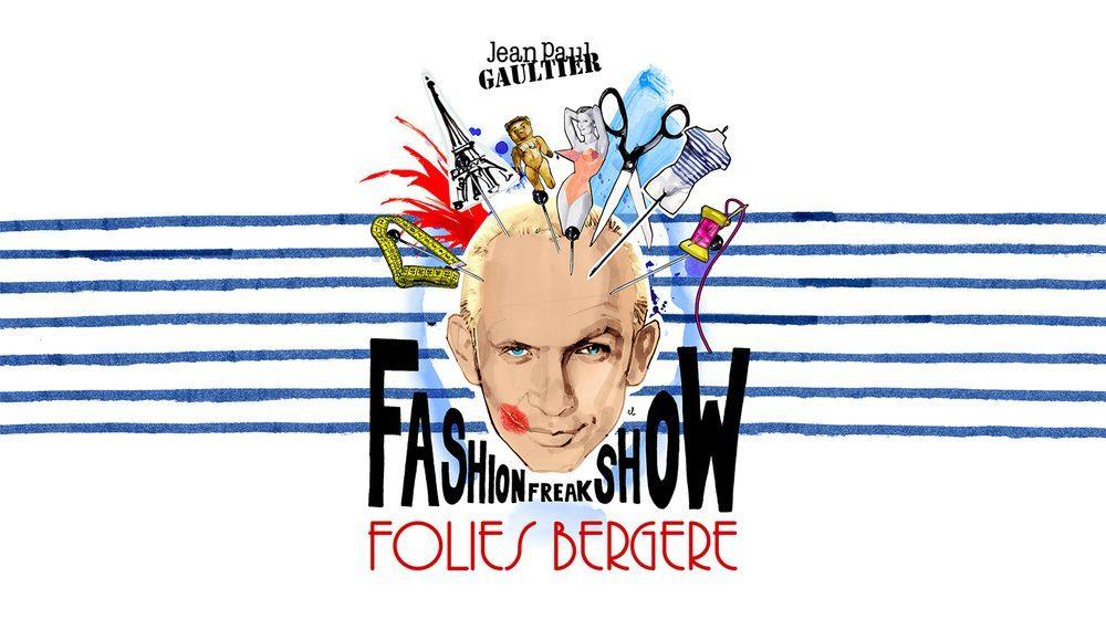 Jean Paul Gaultier Fashion Freak Show Affiche