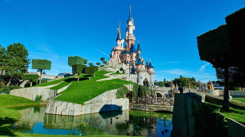 Vue générale du Chateau de le Belle au Bois Dormant ©DISNEY