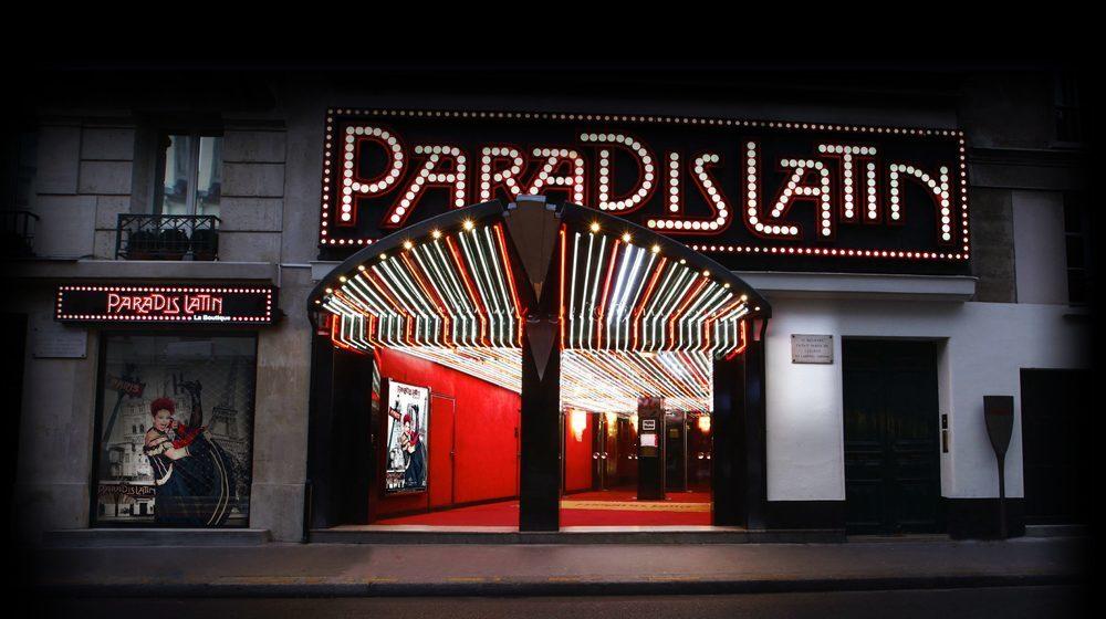 Paradis Latin - Nouvelle Revue de Kamel Ouali Oiseau Paradis avec Iris Mittenaere