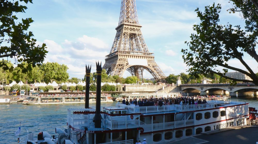 Louisiane Belle, Bateaux de Paris