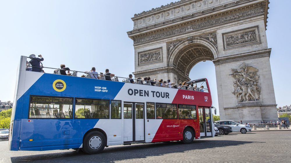Open Tour Paris - Bus Hop on Hop Off