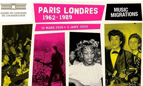 Musée de l'Immigration - Exposition Temporaire - Paris-Londres - Music Migrations (1962-1989) du 12 mars 2019 au 05 janvier 2020