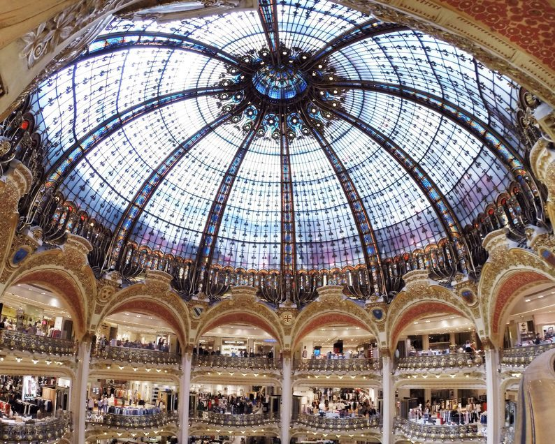 139584cd4edd8b Histoire des Galeries Lafayette - Come to Paris